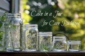 FAQ about making and sending cake in a jar for care packages [Image by Susy Morris chiotsrun via Flickr creative commons; text added by Amanda Papenfus]