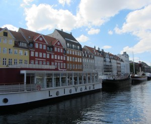 The left side of Nyhavn. That red house is where Hans Christian Anderson used to live.