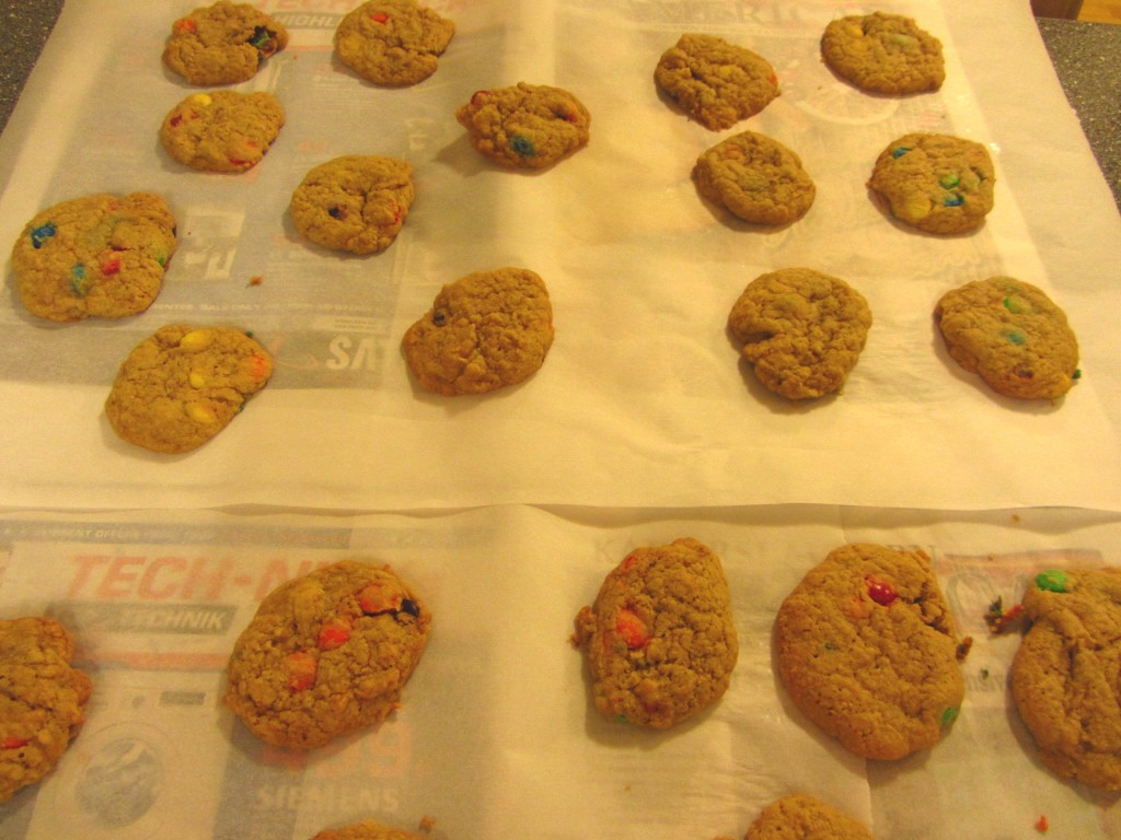 7 finished cookies