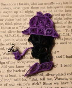 Quilled Sherlock Holmes PhoenixxPhyre Creations