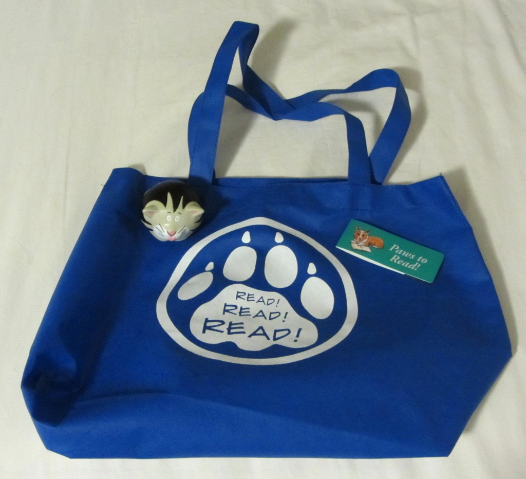 Paws to Read adult summer reading program prizes